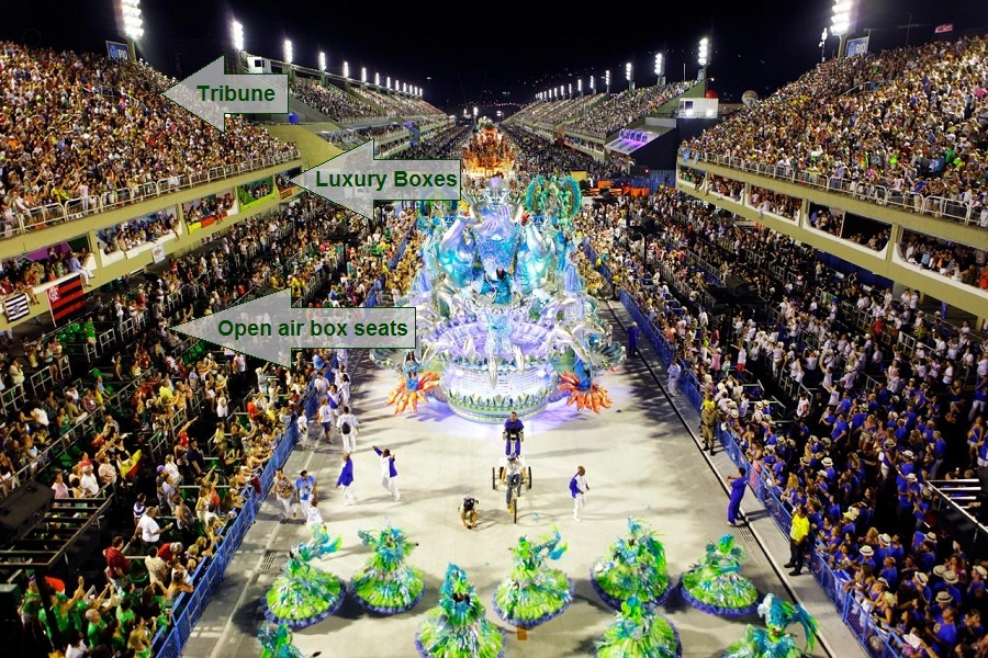 2019 Carnival Packages Sambadrome Packages Tickets And Transportation Rio De Janeiro